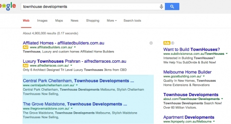 #1 & #2 for Townhouse Developments
