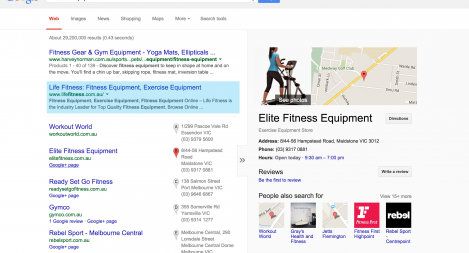 #1 for Exercise Equipment