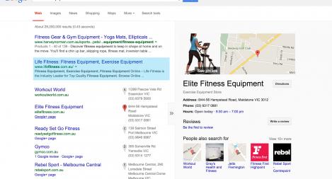 #1 for Exercise Equipment