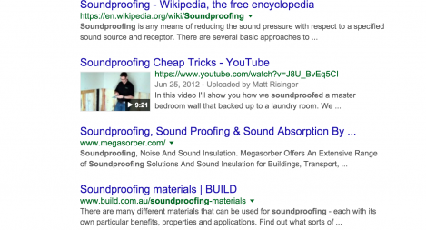 #1 for Soundproofing