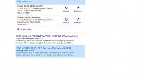 #2 for Melbourne SEO