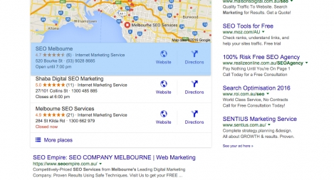 #1 for SEO Agency Melbourne