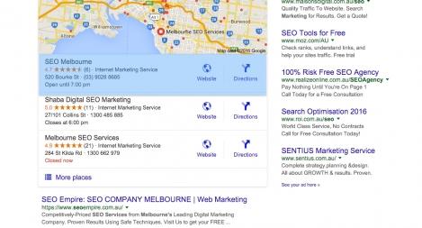 #1 for SEO Company Melbourne