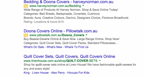 #1 for Quilt Covers