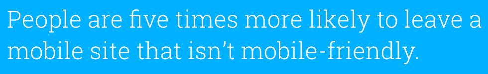 SEO Stats Non Mobile Friendly Websites