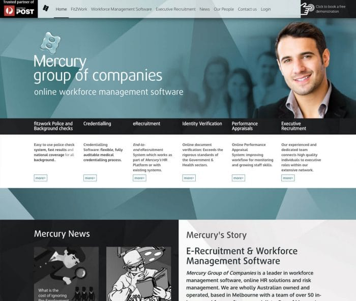 mercury company-checks-SEO company-web-design