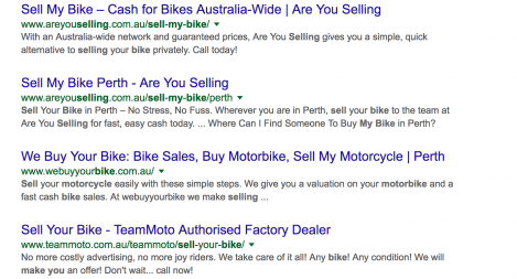 #1 for Sell My Bike
