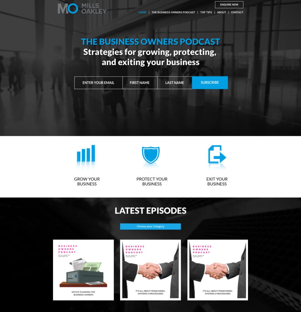 Melbourne SEO website Design Mills Oakley