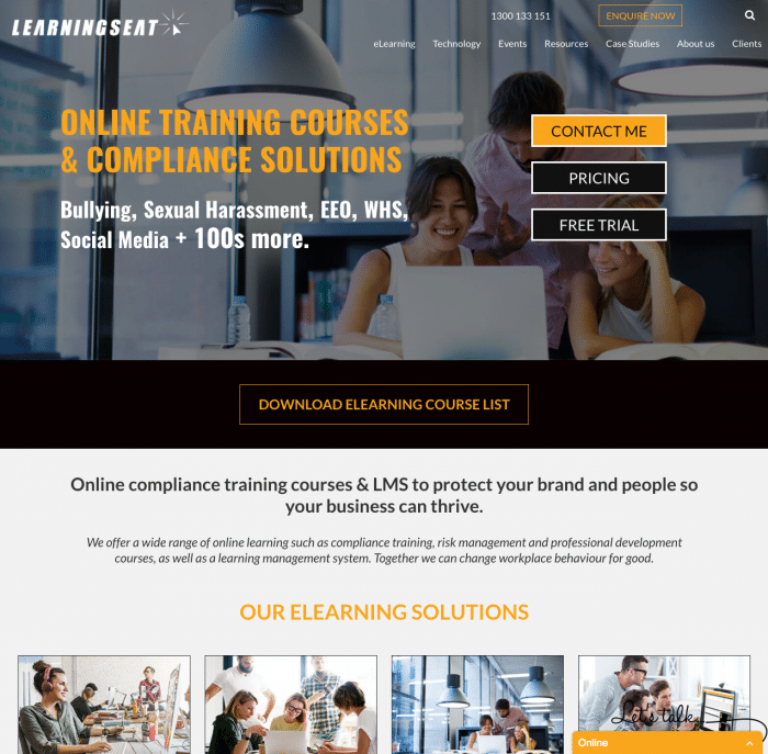 Web Design SEO Learning Seat