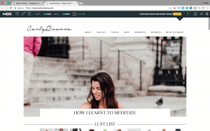 Melbourne Digital PR SEO Example blogger