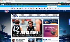 AFL Digital PR Melbourne