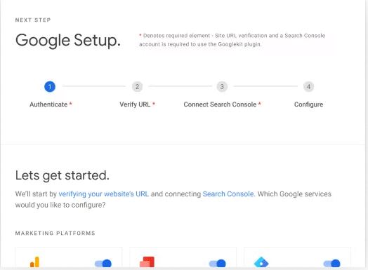 Google Site Kit Setup Search Engine Optimisation Melbourne | Melbourne SEO Agency