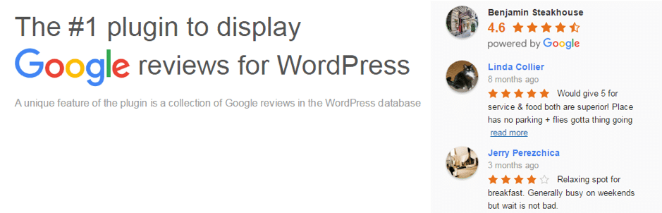 The Google Reviews Plugin for WordPress allows you to embed customer reviews from Google directly to your website. SEO Melbourne post.