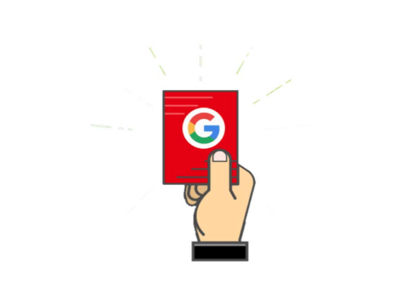 Red Card Google Penalty Search Engine Optimisation Melbourne | SEO Melbourne Agency