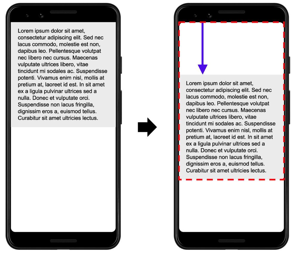 Core Web Vitals Cumulative Layout Shift Example